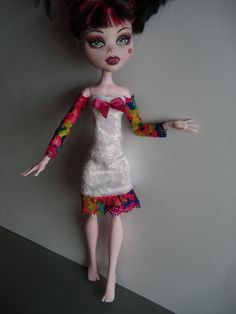 Handmade Clothes for Monster High Doll by MonstaFashion on Etsy, €7.10