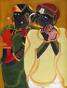 Sanchit Art   Thota Vaikuntam Paintings   Art   Gallery