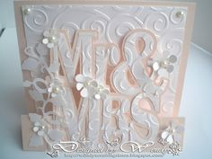 wendy`s crafting times: 30 Anniversary Card Wedding Anniversary Cards, Wedding Cards, 30 Anniversary, Love Cards, Diy Cards, Cricut Wedding, Engagement Cards, Wedding Card Templates, Cricut Cards