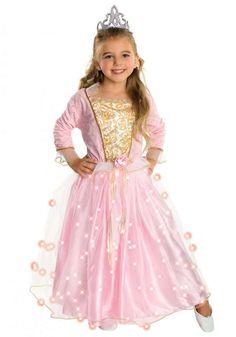 Costumi da principesse per Carnevale - Principessa con corona