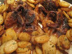 Receita de Codornizes no forno com molho especial .:. Kitchenet .:. Livro de culinária do aeiou