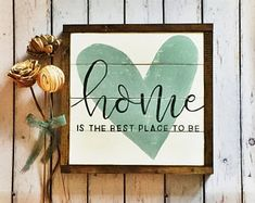 Home is the best place to be, Shiplap, Rustic Sign, Wooden Sign, Hand Painted Sign, Handmade Sign, Hand Lettered Sign