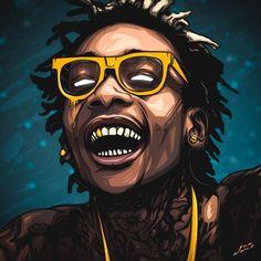 Sam Nolak art - Wiz Khalifa