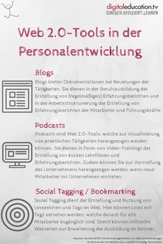 Web 2.0-Tools in der #Personalentwicklung — digitaleducation.tv - einfach.effizient.lernen mit #Video-Trainings in #SCORM Videos, Word Search, Coaching, Training, Words, Further Education, Career Education, Documentary, Career