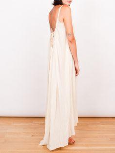 Frances May - Loup Charmant Gauze Gathered Maxi Dress