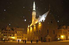 Tallinn, Estonia. The best hot chocolate in the cutest little underground cafes!