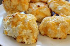 Red Lobster's garlicky cheesy biscuits ..sub the bisquick for your own flour mix, though (avoid preservatives, etc)