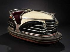 vintage bumper car...what a find. How cool!!