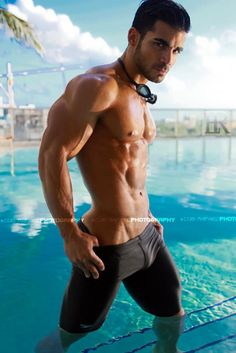 Jordan Martinez, male fitness model | © Luis Rafael ► www.facebook.com/luisrafael4photos # pecs six pack abs hunk men nice arms bare chest hot guy male body shirtless musculoso
