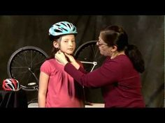 Learn how to fit your child's bike helmet in three easy steps. EYES.EARS. MOUTH. #video #bikesafety #helmetsafety