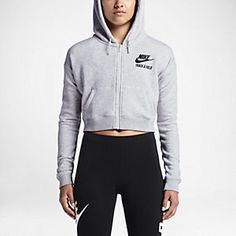 Nike T/F Cropped Women's Hoodie. Nike.com
