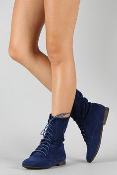 Breckelle Sandy-62 Lace Up Ankle Bootie    I NEED THESE