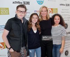 L.J. Benet, G. Hannelius, Beth Littleford and Kayla Maisonet attend 'Dreamnight' at the Los Angeles Zoo on June 5, 2015 in Los Angeles, California.