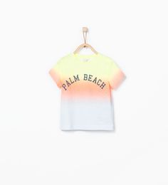 Image 1 of Palm beach T-shirt from Zara