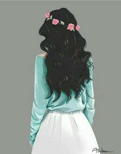 45 ideas for drawing kawaii hair Cute Girl Drawing, Cartoon Girl Drawing, Girl Cartoon, Cartoon Art, Tumblr Girl Drawing, Girly M, Sarra Art, Dibujos Tumblr A Color, Lovely Girl Image