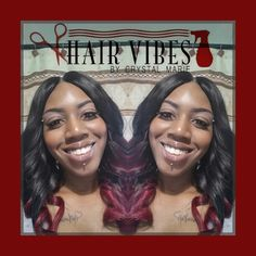 Follow on Instagram @HairVibes_ByCrystalMarie