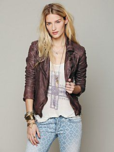Leather Jackets for Women at Free People