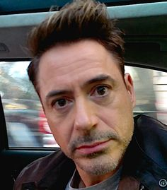 Robert Downey Jr. in an outtake from his Toronto videos, posted on his FB page Sept 18, 2014.