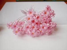 How to make clay flowers