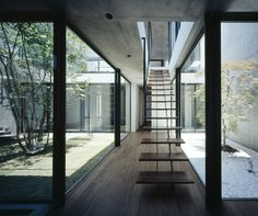 Still by Apollo Architects and Associates: http://www.dezeen.com/2013/03/08/still-japanese-courtyard-house-apollo-architects-associates/