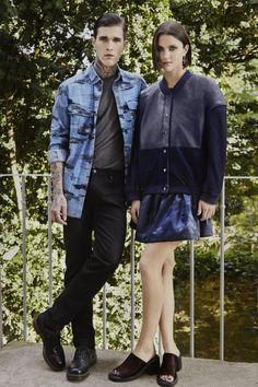 GENERATION OFF LOVE SS14 #couple #spring #summer #blue #camo #vintage #90s