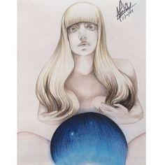 Free my mind ARTPOP you make my heart stop #ARTPOP #Gaga #art #drawing #cover