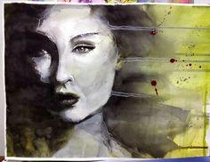 Art journal y otras cosas...: Retratos finalizados