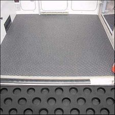 Rubber Mat - Middle [Vanagon Full Camper] - GoWesty Camper Products - parts supplier for VW Vanagon, Eurovan, and Bus