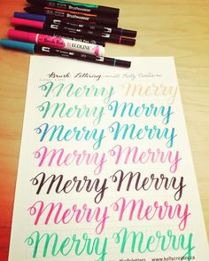 Christmas over and I'm a bit behind with my @kellycreates practicing sheets. They're super helpful!! I love them!! #kellyletters #color #colors #colour #colours #calligraphy #calligraphylove #calligraphypen #handmade #handletter #handlettering  #handlettered #handwriting #handcalligraphy #lettering  #letteringart #moderncalligraphy #watercolor #watercolorlettering #watercolorpainting  #surelysimplelettering  #surelysimple  #kuretake #kuretakezig  #pentel  #pentelbrushpen #ecoline #sakura…