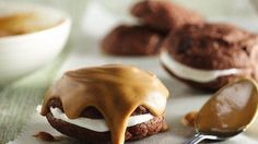 inside out peanut butter cookies