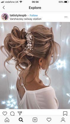 27 classic and stylish wedding hairstyles Bridal Hair Updo, Marie, Wedding Hairstyles, Dreadlocks, Stylish, Hair Styles, Classic Hairstyles, Beauty, Hair