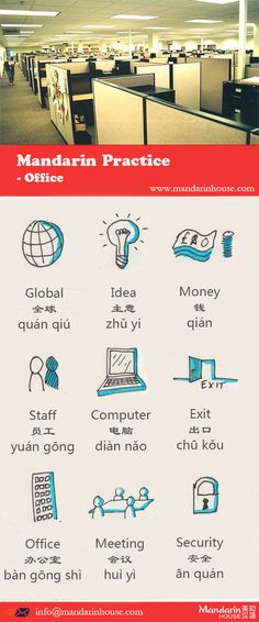 Office in Chinese.For more info please contact: bodi.li@mandarinhouse.cn The best Mandarin School in China.