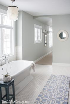 Master Bathroom Decor - The Lilypad Cottage