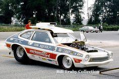 Vintage Drag Racing - Pro Stock - Sam Auxier Jr. - Pinto