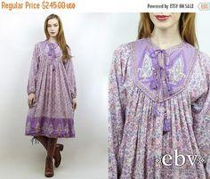 Indiase jurk India jurk Hippie jurk hippie jurk Boho door shopEBV