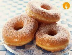 Donuts caseros, presentación final *       DONUTS CASEROS CON GLASEADO DE AZÚCAR     Si eres aman...