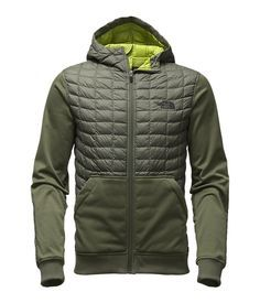 The North Face Men's Kilowatt ThermoBall Jacket - Moosejaw Urban Fashion, Mens Fashion, Tactical Shirt, Man Dressing Style, Gq Style, Jacket Style, Jacket Men, Sport Wear, Outdoor Outfit