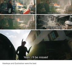 Hawkeye and Quicksilver