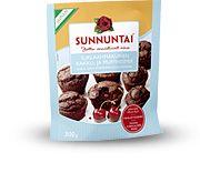 Sunnuntai Suklaanmakuinen kakku- ja muffinsimix. Tai vastaavat tuotteet.