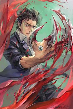Parasyte by zzyzzyy.deviantart.com on @DeviantArt  Kiseijuu: Sei no Kakuritsu (Parasyte -the maximum-) i'm hooked! Cant wait for the next episode/ << might be a bit weird but its an amazing anime!