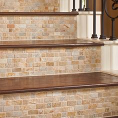 Tile/wood stairs.... Yes please!