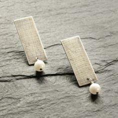 SES Design Linen Earrings