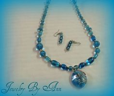 Beautiful, unique & handmade set by Ann Ray. $15.00 + s&h. PayPal. contact info: annray253@bellsouth.net & 229-460-0051