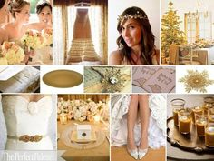 The Perfect Palette: Latte, Antique Gold, Peach, Ivory & White