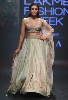 Looking for some fresh New Summer Bridal Colours for your wedding wear? Check out these awesome designer lehengas with PRICES from the latest Lakme Fashion Week collection.
