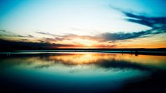 blue sunset theme picture (Brand Little 2048 x 1152)