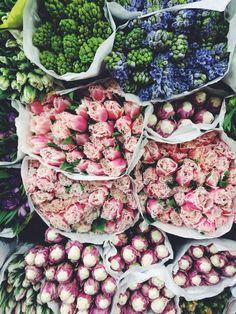 New York Chelsea Flower Market