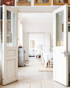13 of the most beautiful double doors in the world. From modern to classic interior doors with style.