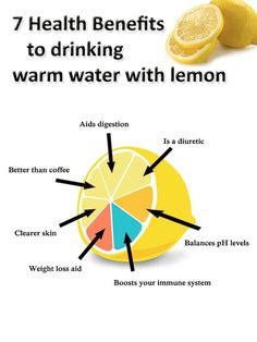 7 Health Benefits to Drinking Warm Lemon Water #health #natural