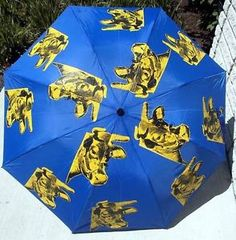 warhol umbrella